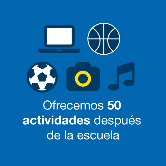 50 after school activities offered