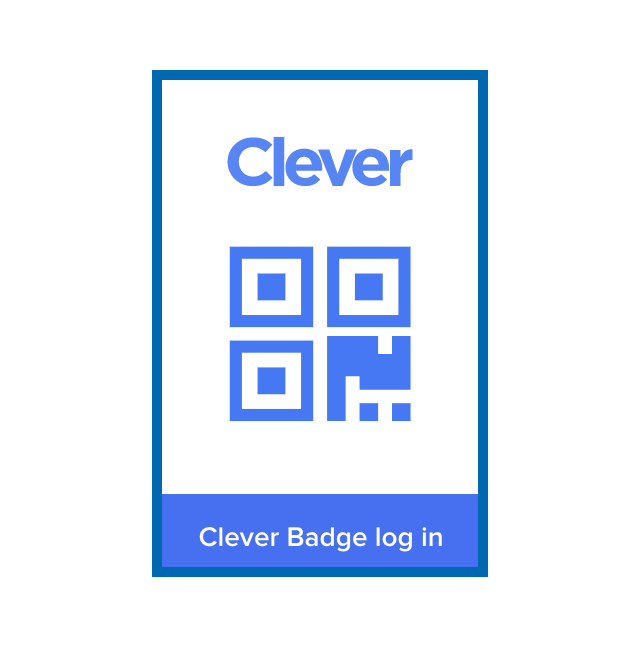 Clever login badge