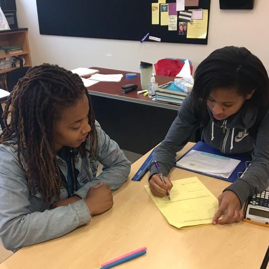 Low teacher to student ratio