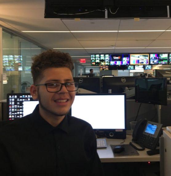 Senior interning at Reuters TV