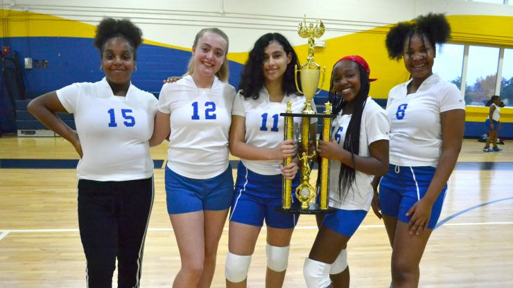 Middle School Volleyball champs