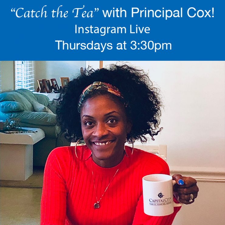 Catch the Tea with Principa Laina Cox