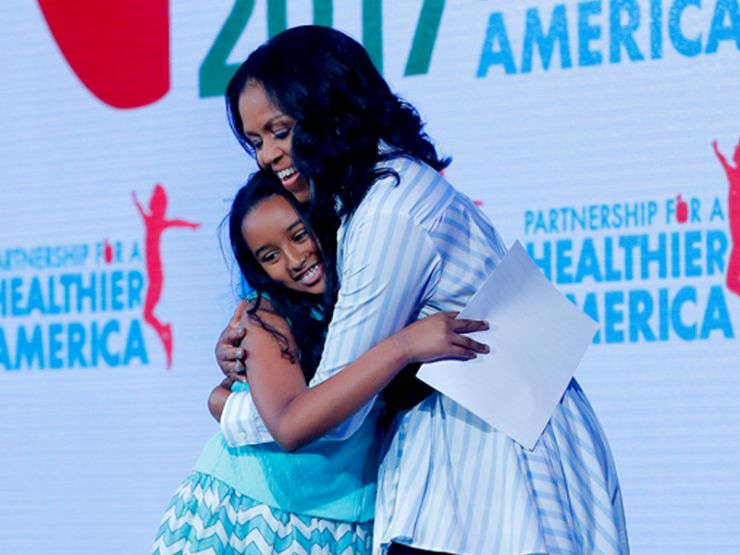 5th Grader Introduces First Lady Michelle Obama