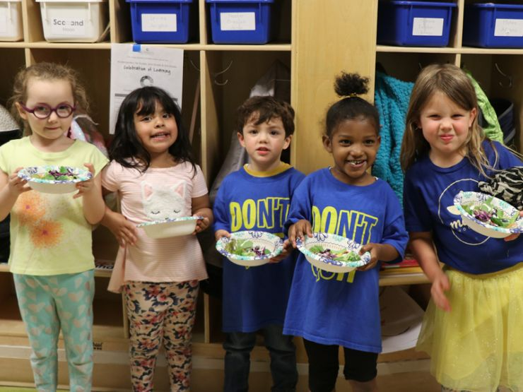 PreK salad party